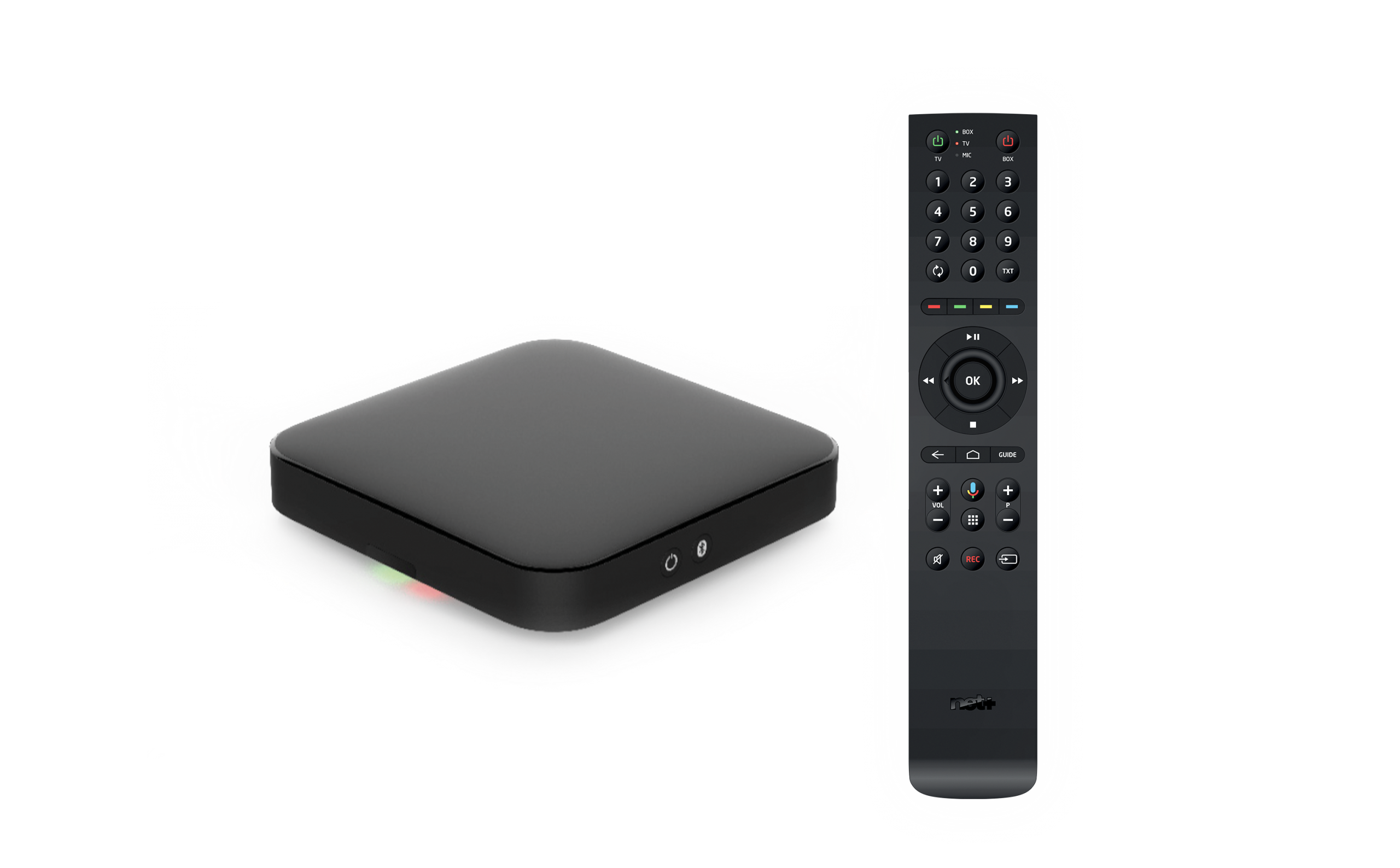 La Box by net+ propulsé par android TV